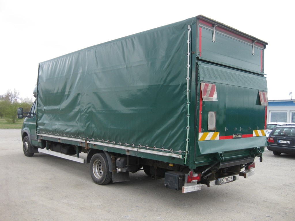 iveco daily 65 c18 4x2 platform with tarpaulin automarket. Black Bedroom Furniture Sets. Home Design Ideas