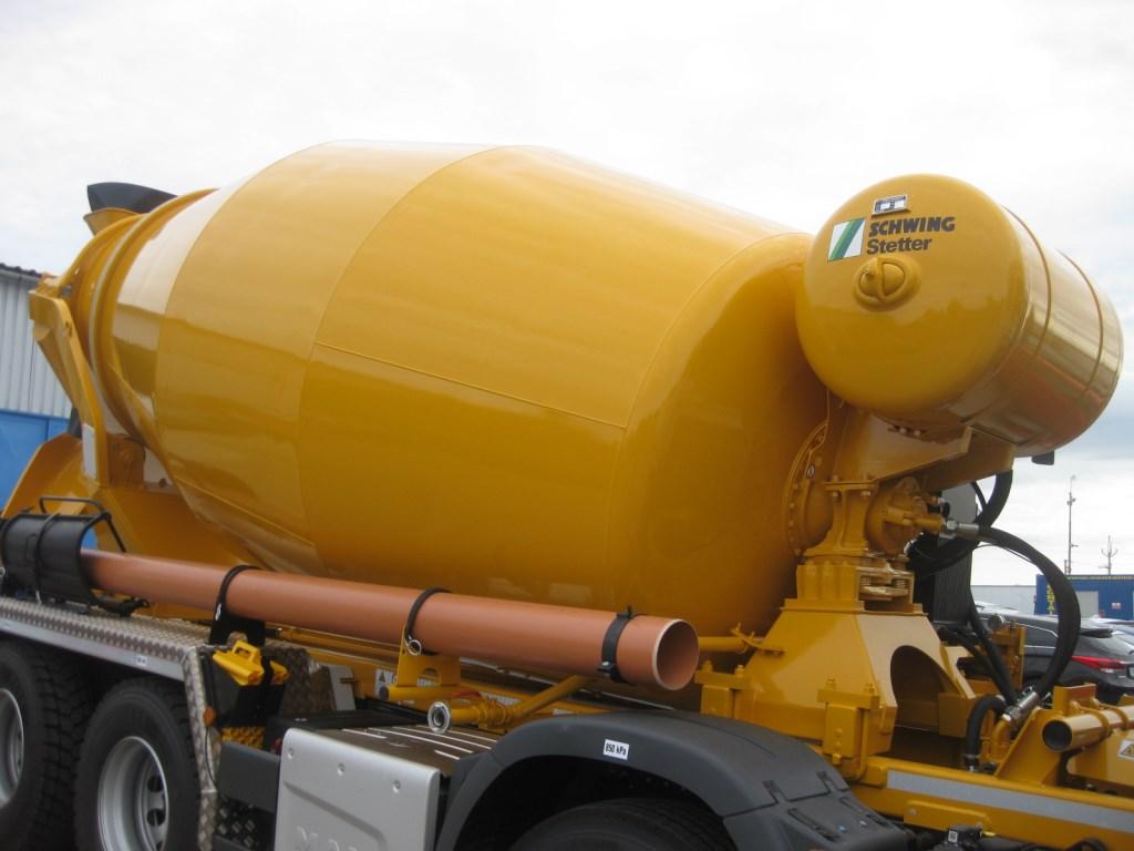 MAN TGS 32 420 BB mix Stetter 8x4 - concrete mixer - Automarket