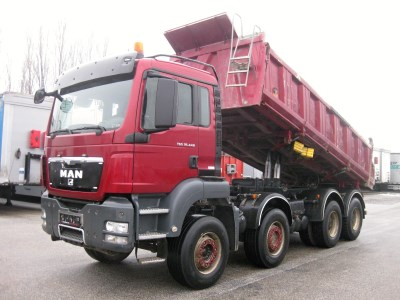 MAN TGS 35.440 S3 s bordmatikem 8x4