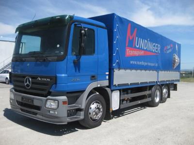 Mercedes-Benz Actros 2536 6x2 - curtainsider - Automarket