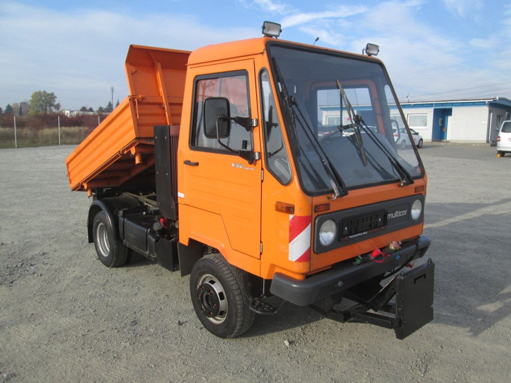multicar m26 4x4 municipal car automarket