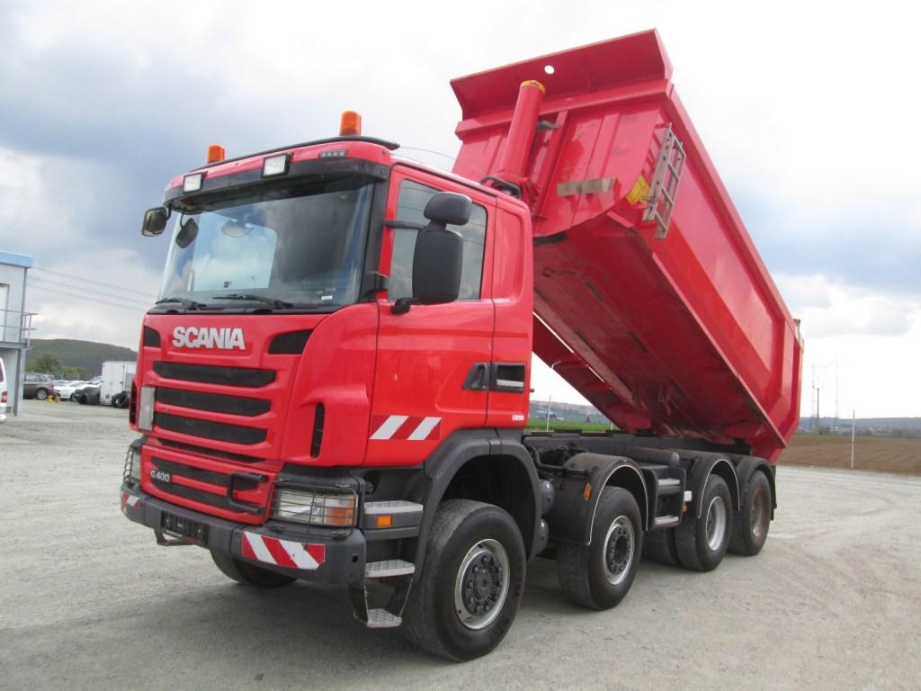Scania G400 CB8X6 HHZ 8x6 - one-way tipper - Automarket