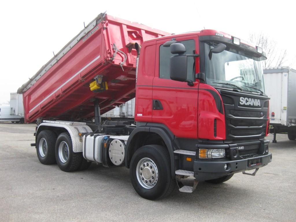 Scania G440 6x4 - three-way tipper - Automarket