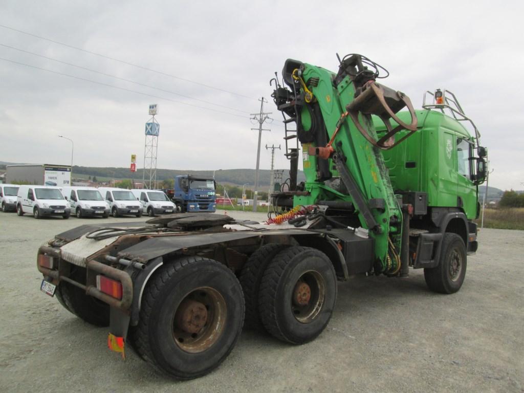 Scania P124 CB 6x6 HZ 6x6 - standard - Automarket